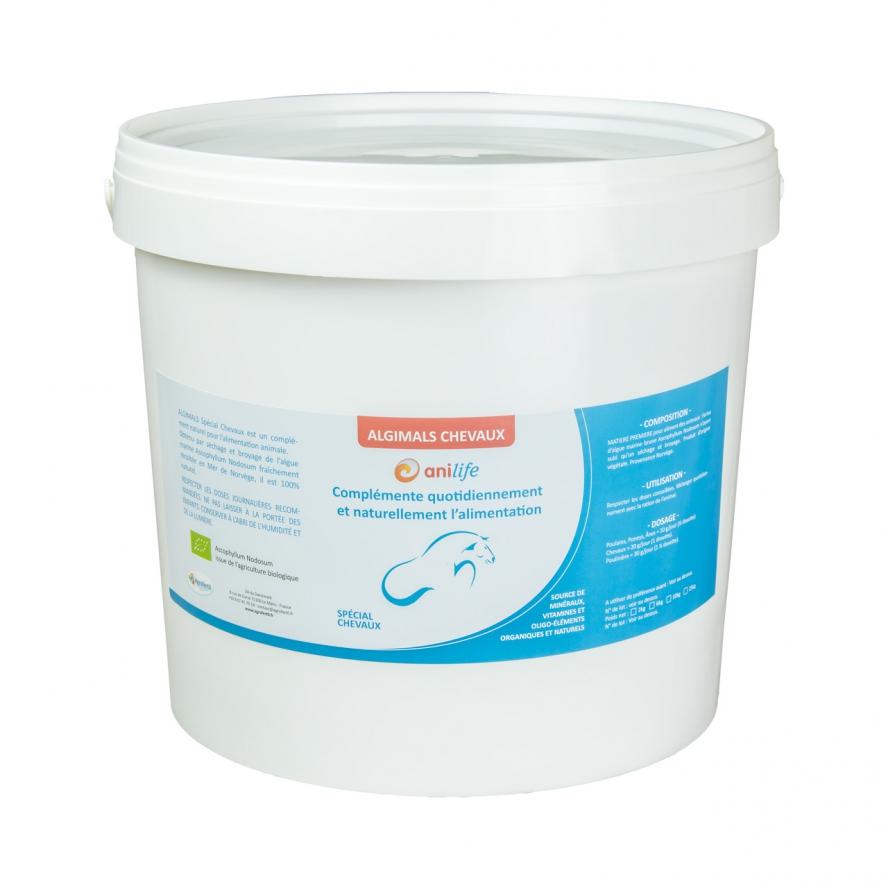 algues et produits naturels Agrofertil-Algimals-Chevaux-10kg - algues chevaux