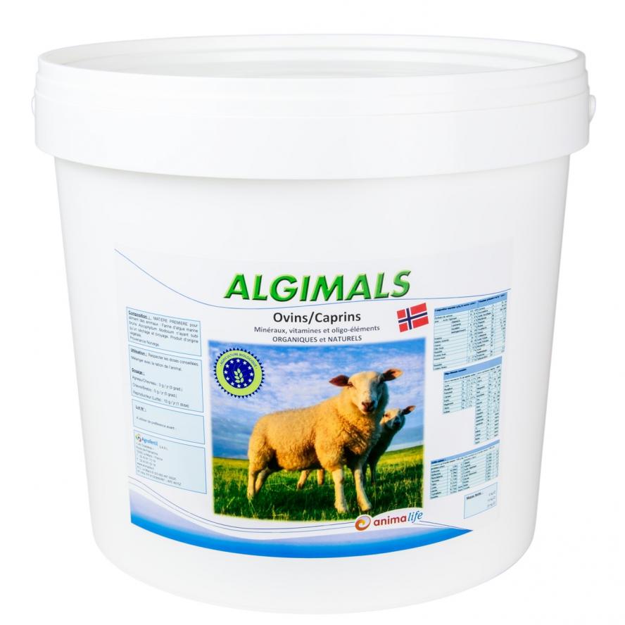 algues et produits naturels - algues ovins-algimals-10kg agrofertil