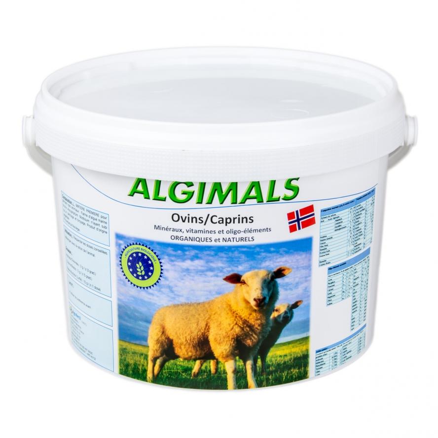 algues et produits naturels - algues ovins-algimals-2kg agrofertil