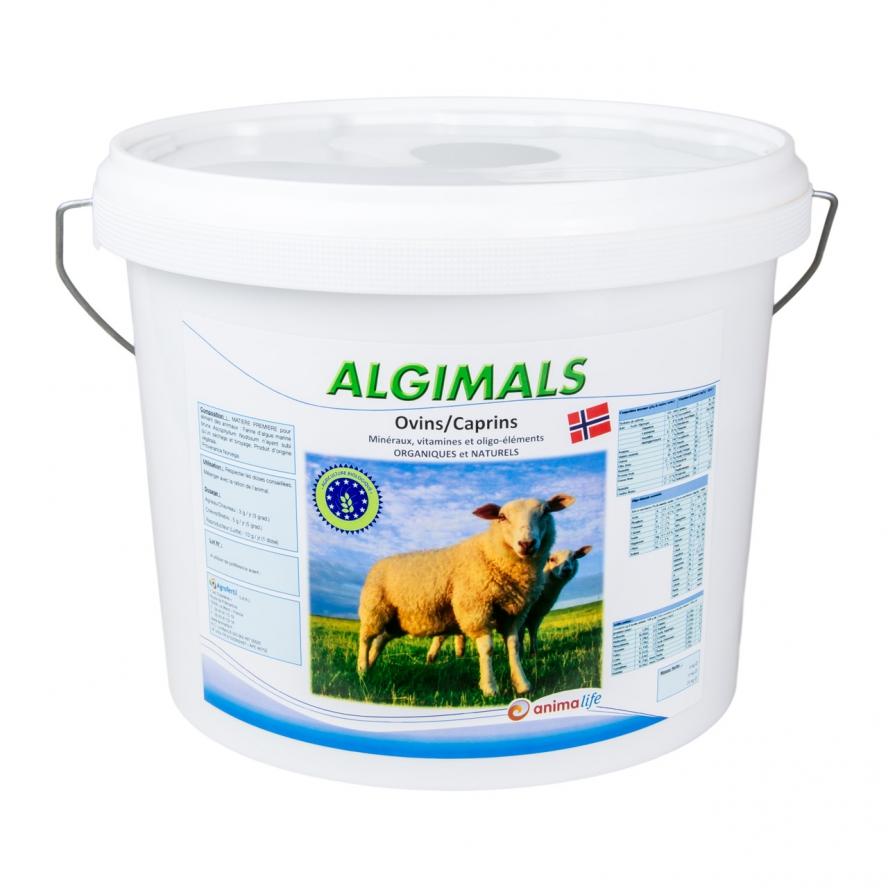 algues et produits naturels - algues ovins-algimals-6kg agrofertil