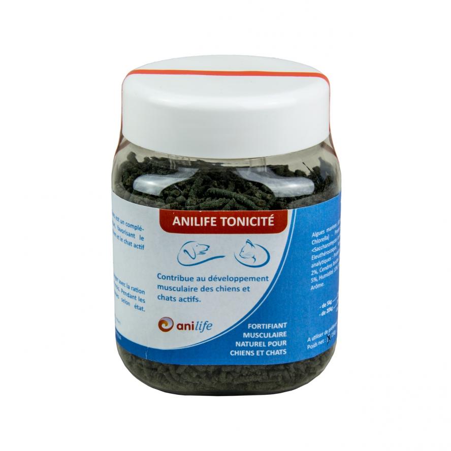 algues et produits naturels - Agrofertil-Anilife Tonicité- muscle chien et Chat