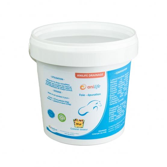algues et produits naturels -foie épuration - Anilife-Drainage-Chevaux 0.5kg